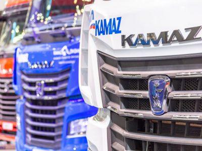 Рынок новых грузовых автомобилей в России. Лидирует Камаз, в конце – Scania
