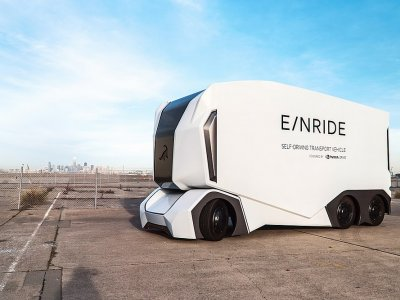 Домашний офис для дальнобойщика? Это не научная фантастика – шведский стартап ищет удаленного оператора грузовика.