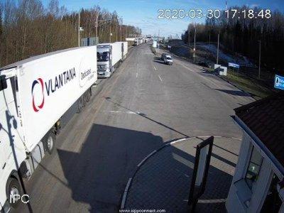 На белорусской границе – очередь из более 700 грузовиков