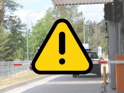 Ribojamas Lietuvos valstybės sienos kirtimas automobilių keliais
