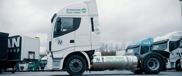 German transport and logistics operator opts for gas trucks. Over time, they will make up 20% of the