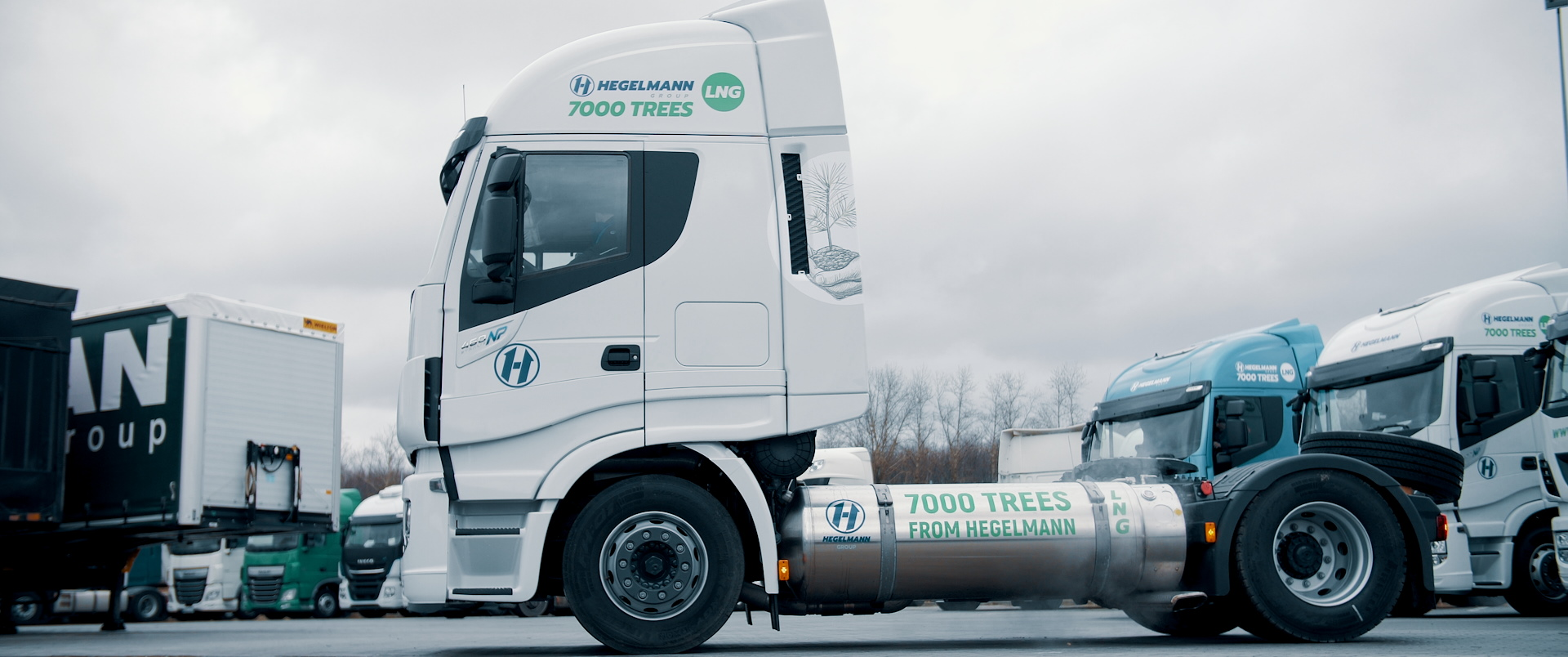 German transport and logistics operator opts for gas trucks. Over time, they will make up 20% of the fleet