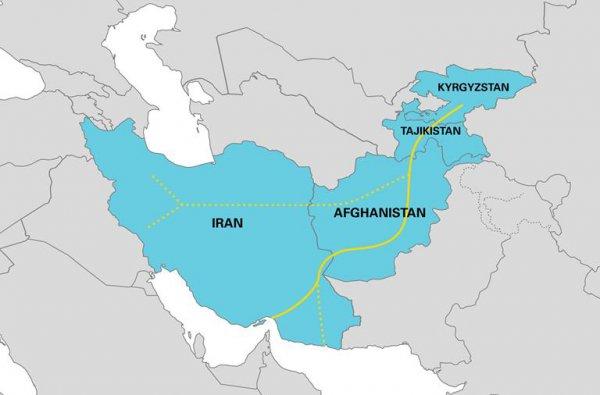 Открыт новый транспортный коридор для перевозок МДП Кыргызстан-Таджикистан-Афганистан-Иран