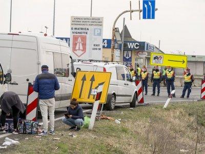 Nincs elég járművezető Ausztriában. A magyar sofőrök hazamentek hétvégére és karanténban vannak