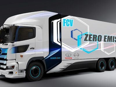Toyota объявляет о грузовике с нулевым выбросом выхлопных газов. Он должен работать на водороде