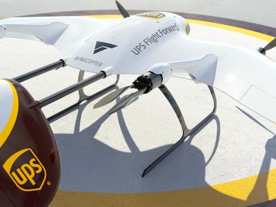UPS investiert in neue Generation von Lieferdrohnen. Technologie kommt von einem deutschen Start-up