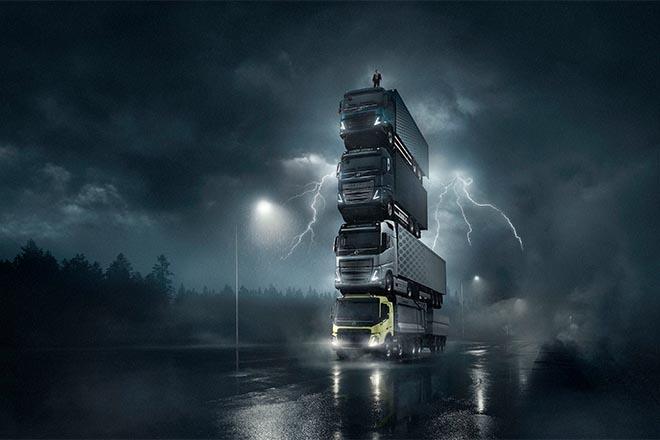 Imagini din culisele realizării celei mai recente reclame Volvo