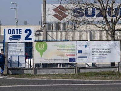 A Suzuki gyár is bezár, de a dolgozók továbbra is kapnak fizetést