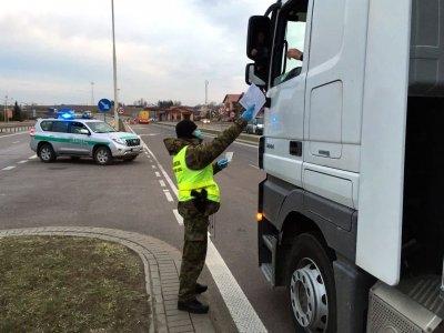 Kassavaitiniam poilsiui į Lenkiją grįžtantiems vairuotojams karantinas netaikomas