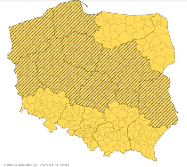 Uwaga na gołoledź w Polsce i sąsiednich krajach. Ostrzeżenia o oblodzeniach na drogach w 8 województ