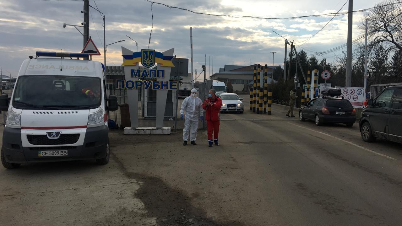 Карантин в Украине. Где можно пересечь границу на автомобиле?