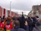 Prancūzijos profesinių sąjungų atstovai nori sustabdyti kelių transportą. Jie ragina vairuotojus streikuoti