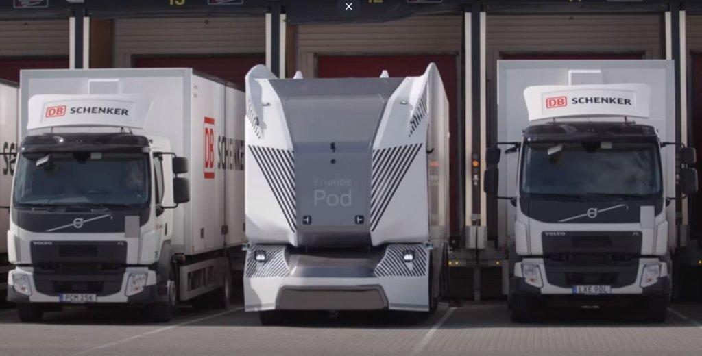 Ilyen a svéd távirányítós teherautó. Szerintetek ez a kamionozás jövője?