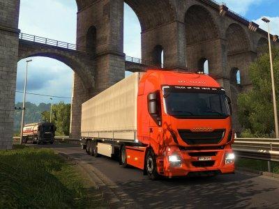 584 millió kilométert tettek meg teherautókkal. Útközben segítettek a koronavírus elleni küzdelemben is