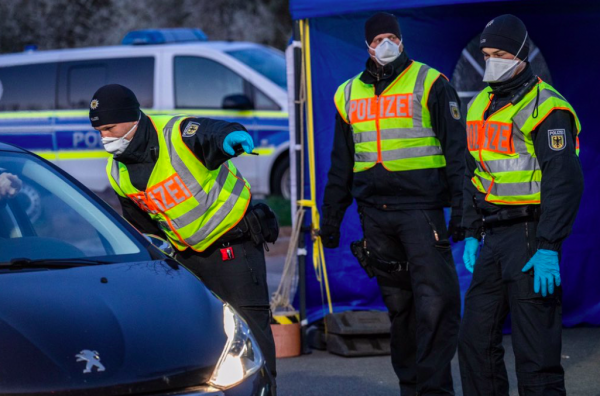 Germany: quarantine for people entering the country. Does it apply to truckers?