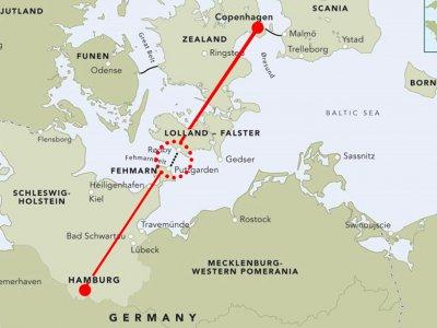 2021 m. prasidės Vokietiją ir Daniją jungiančio tunelio statyba. Kelionės laikas iš Hamburgo į Kopenhagą bus trumpesnis