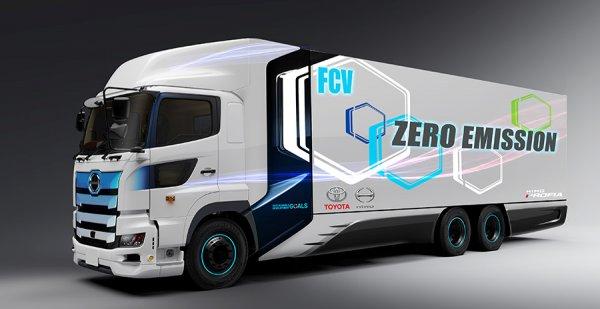 Toyota announces a zero-emission, hydrogen-powered truck