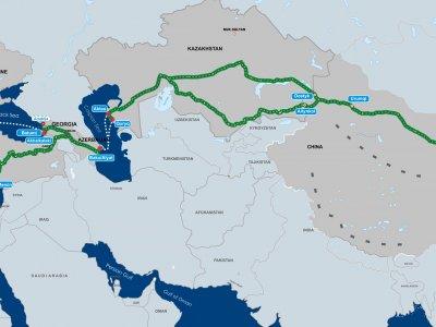 Новые маршруты между Китаем и Европой через Азербайджан. В планах – рост объемов перевозок по Транскаспийскому коридору