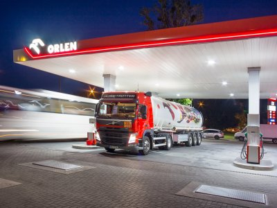 Erste Tankstelle unter der Marke Orlen in Deutschland eröffnet