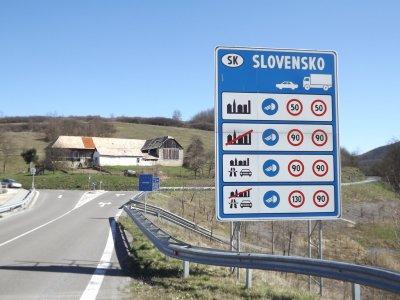 Словакия восстановила пограничный контроль. С 8 до 17 апреля пересечение границы только в определенных местах