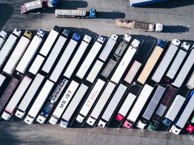 46% of UK's lorry fleet parked up. RHA asks for immediate cash injection