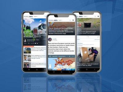 Świat transportu i logistyki na Twoim telefonie – zainstaluj darmową aplikację Trans.INFO