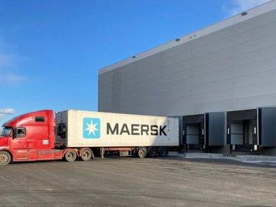 Maersk запустил огромный рефрижераторный склад в Санкт-Петербурге