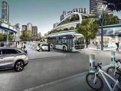 CO2-neutraler Transport der Zukunft. Daimler Truck AG und Volvo Group teilen ihre umweltfreundliche Vision