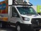"""Amerikanisches Start-up führt Lieferungen auf der """"mittleren Meile"""" mit autonomen Kleintransportern aus."""
