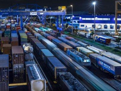 Растут перевозки между Дуйсбургом и Китаем