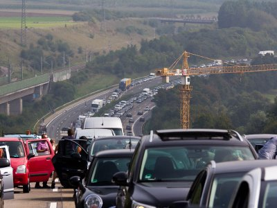 Germany: increased traffic during the long weekend. Expect congestions!