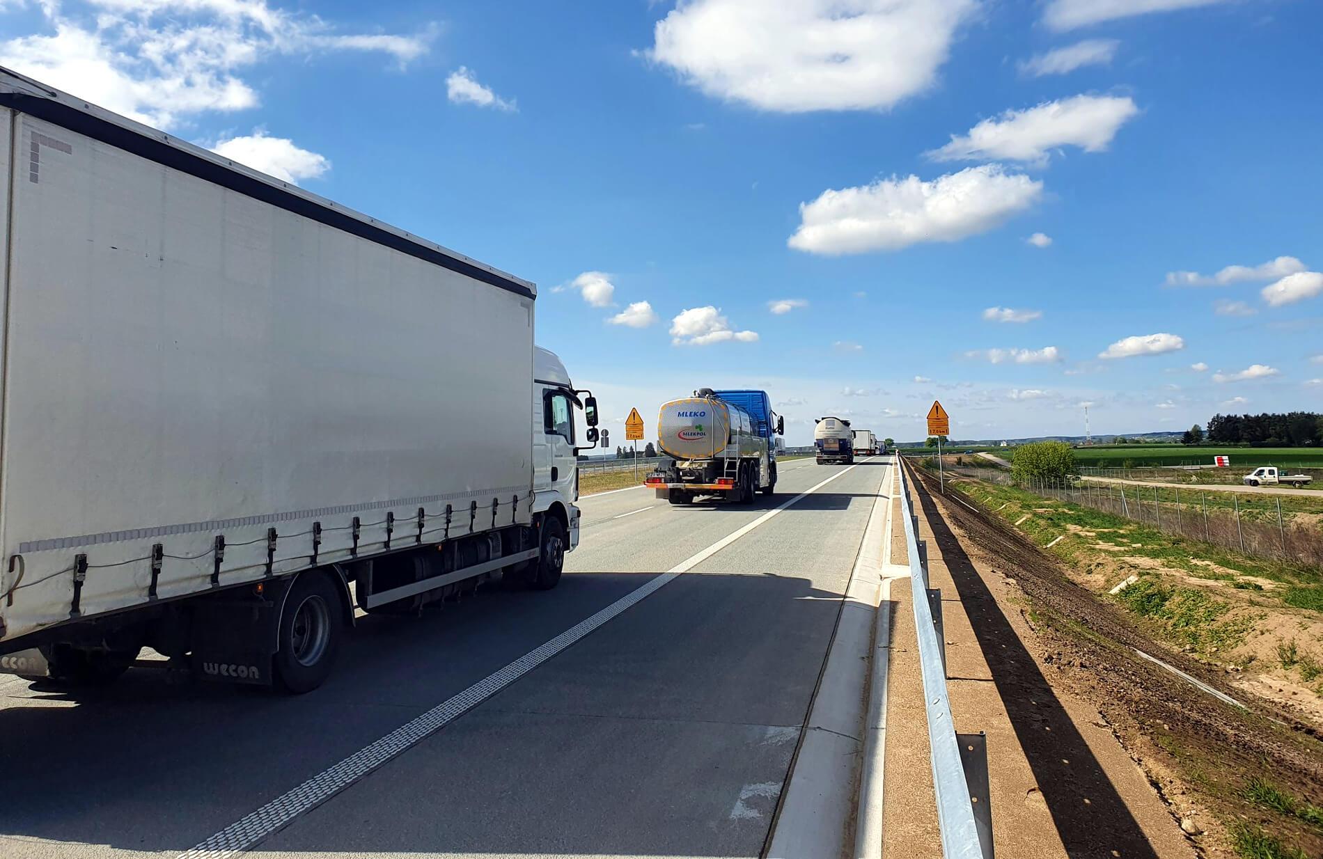 Nowy fragment ekspresówki na północnym-wschodzie Polski otwarty