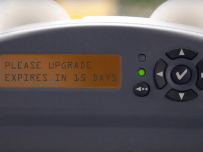 Problems with updating software for Belgian toll boxes. Carriers can expect compensation