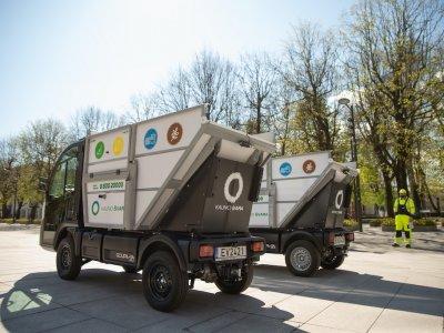 Kompaktiški elektriniai sunkvežimiai – jau ir Lietuvoje
