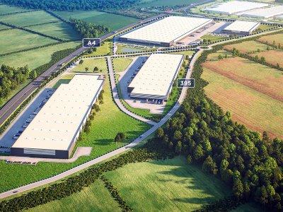Park logistyczny pod Wrocławiem zyska dwie nowe hale w ciągu pół roku