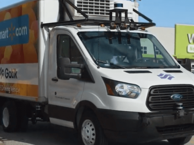 American startup uses autonomous box trucks for 'middle mile' deliveries