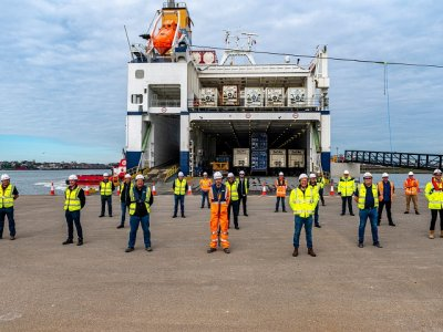 Tilbury 2: UK's newest and largest freight ro-ro port  tried and tested