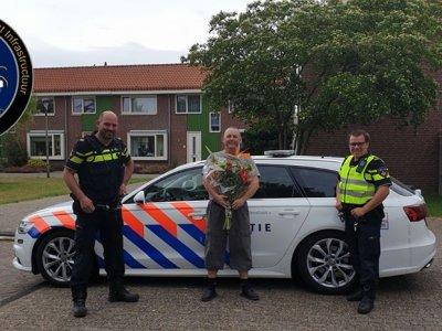 De ce a primit un șofer de camion…un buchet de flori din partea poliţiei olandeze?