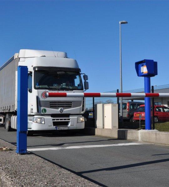 Bosch eröffnet ersten Secure Truck Parking in Frankreich