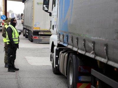 Новое приложение для водителей. Покажет время ожидания пересечения границ в ЕС