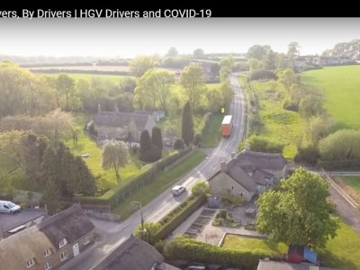 A film for drivers, by drivers – HGV drivers and COVID-19. You MUST see this video