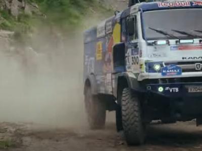 Un Ford Fiesta și un Kamaz s-au întrecut pe cel mai dificil traseu din lume