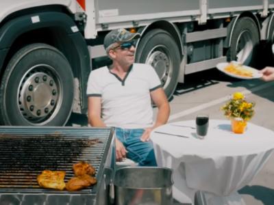 Primire de cinci stele pentru șoferii de camion în Elveția