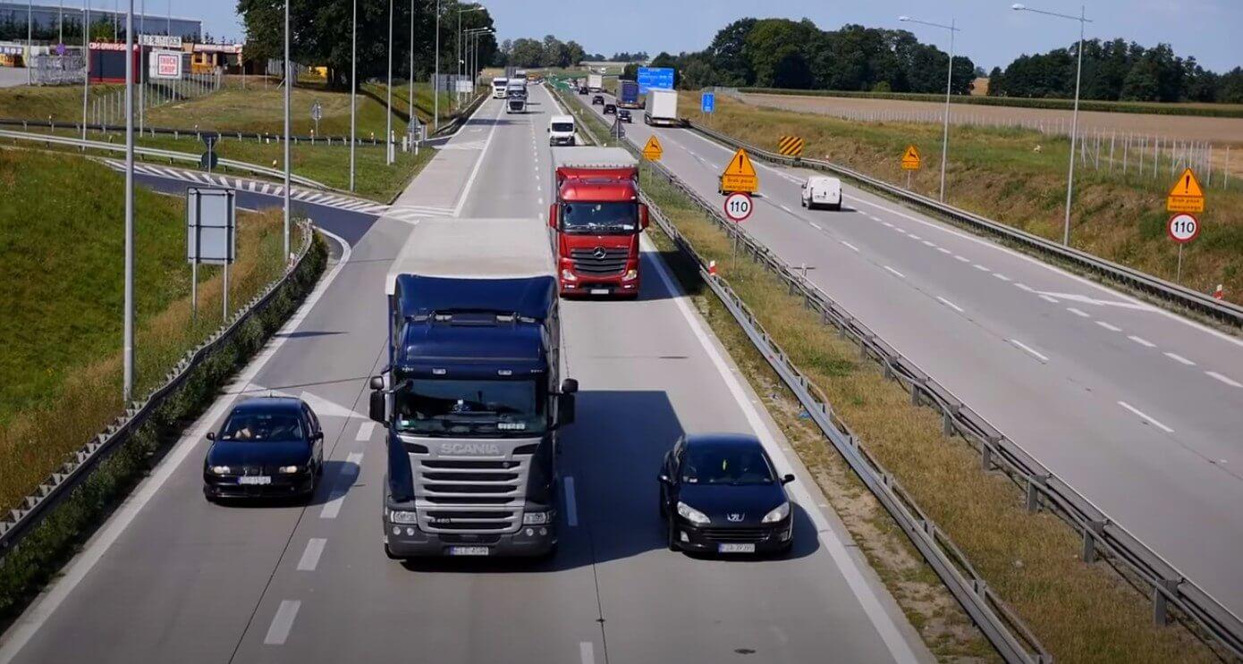 Europejski transport drogowy odbije w tym roku. Sprawdź, kiedy wróci do poziomu sprzed pandemii