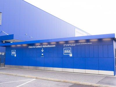 Ikea setzt auf Abholboxen