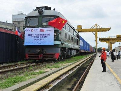 Китай, Россию и Европу объединило новое транспортное сообщение