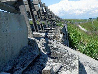 #AutostradaDemolata | Avem imagini cu un puternic impact emoțional cu peisajul dezolant din zona Aciliu