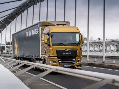 Fuel consumption in the new MAN TGX considerably lower than in the previous version