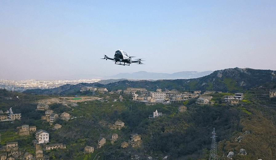 Chińskie drony-dostawczaki na testach. Udźwigną naprawdę spory ładunek