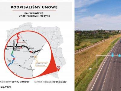 """Trasa Przemyśl-Medyka będzie szersza. """"Odcinek ma charakter strategiczny"""""""